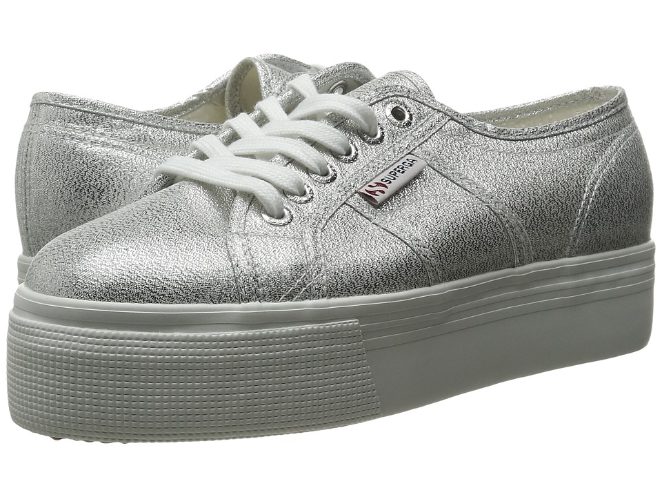Superga 2790 Lame (Silver) Women