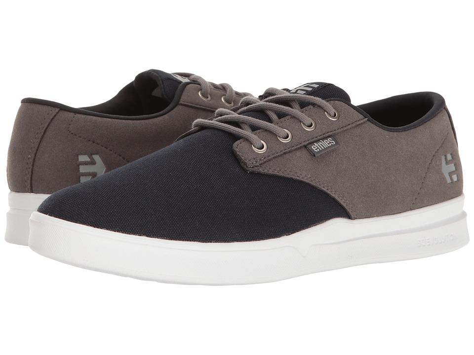 etnies - Jameson SC (Navy/Grey) Men's Skate Shoes