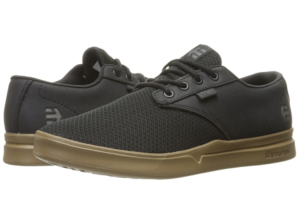etnies - Jameson SC (Black/Gum/Grey) Men's Skate Shoes