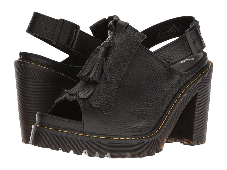 Dr. Martens - Seraphina (Black Aunt Sally) Women's Sandals