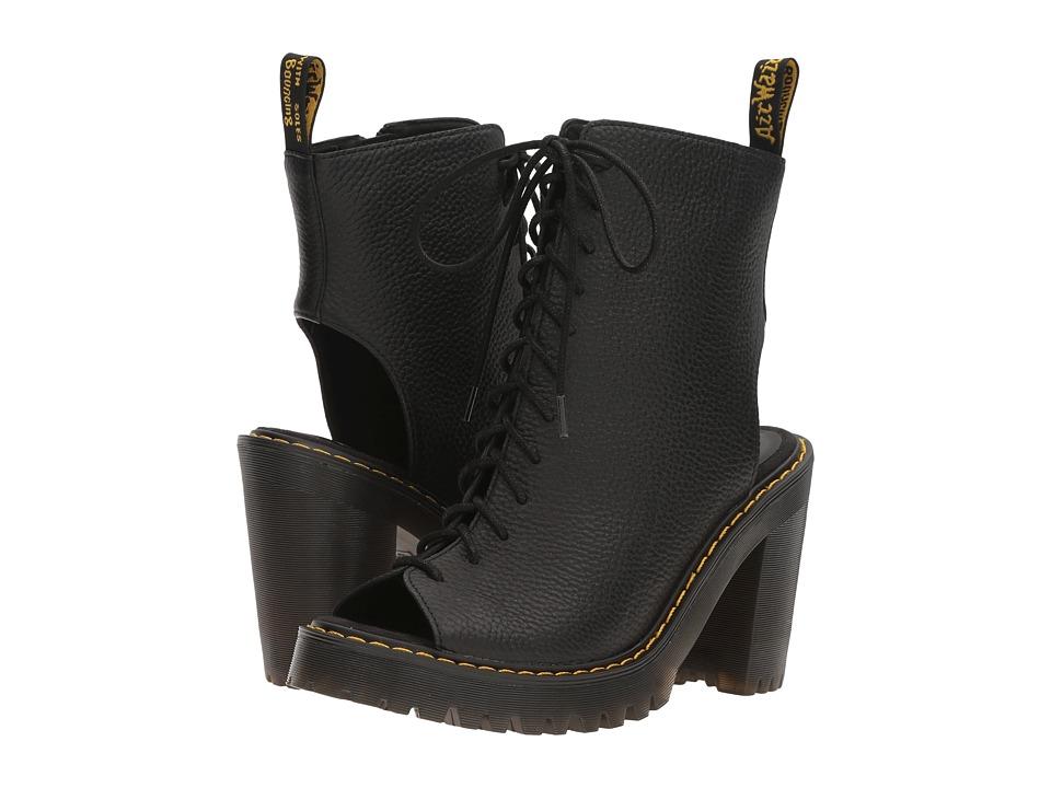Dr. Martens - Carmelita (Black Aunt Sally) Women's Boots