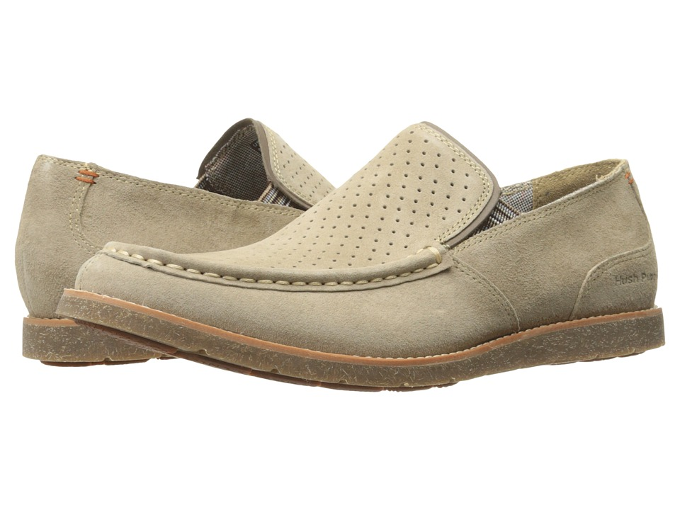 Hush Puppies Lorens Jester (Taupe Suede) Men