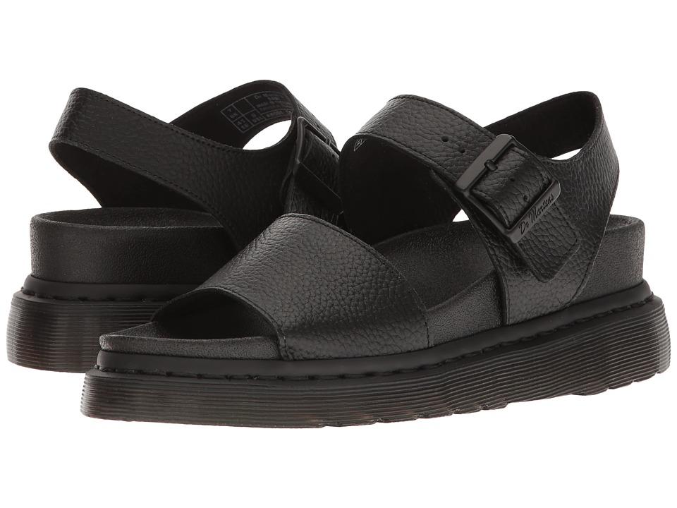 Dr. Martens - Romi (Black Pebble Lamper) Women's Sandals