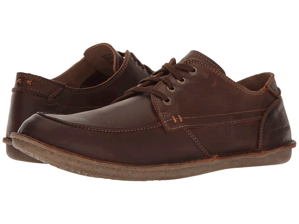 Hush Puppies - Arvid Roll Flex (Chestnut Leather) Men's Lace up casual Shoes