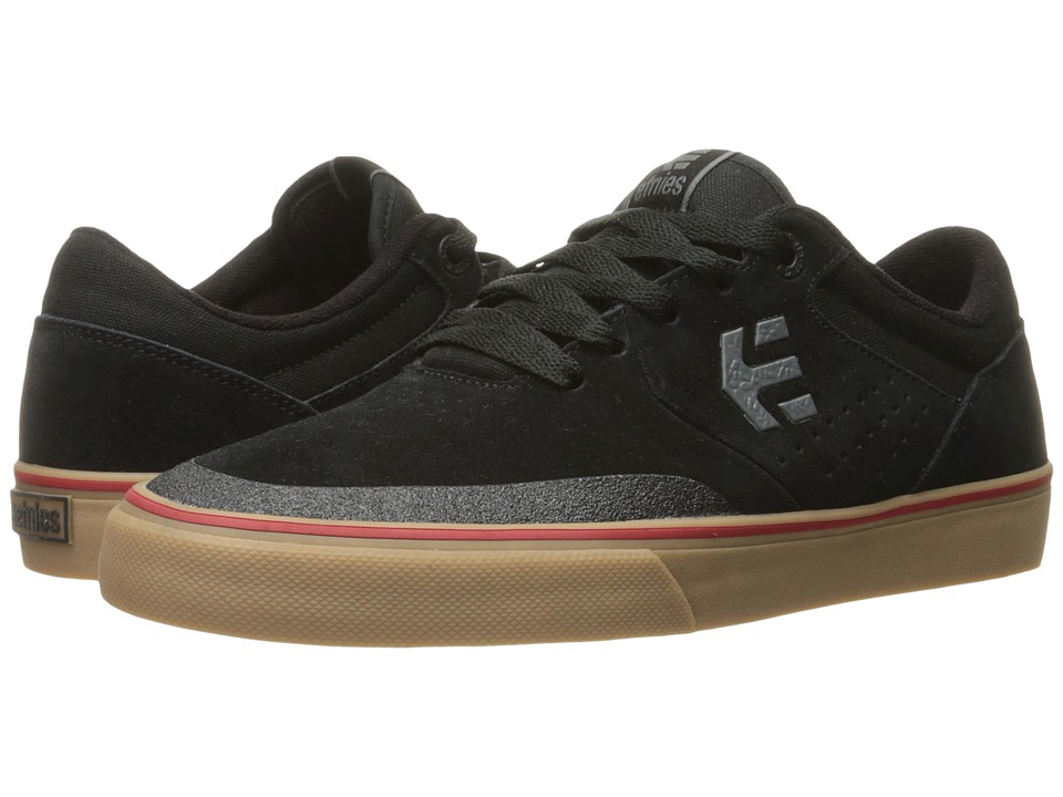 etnies - Marana Vulc (Black/Gum/Grey) Men's Skate Shoes