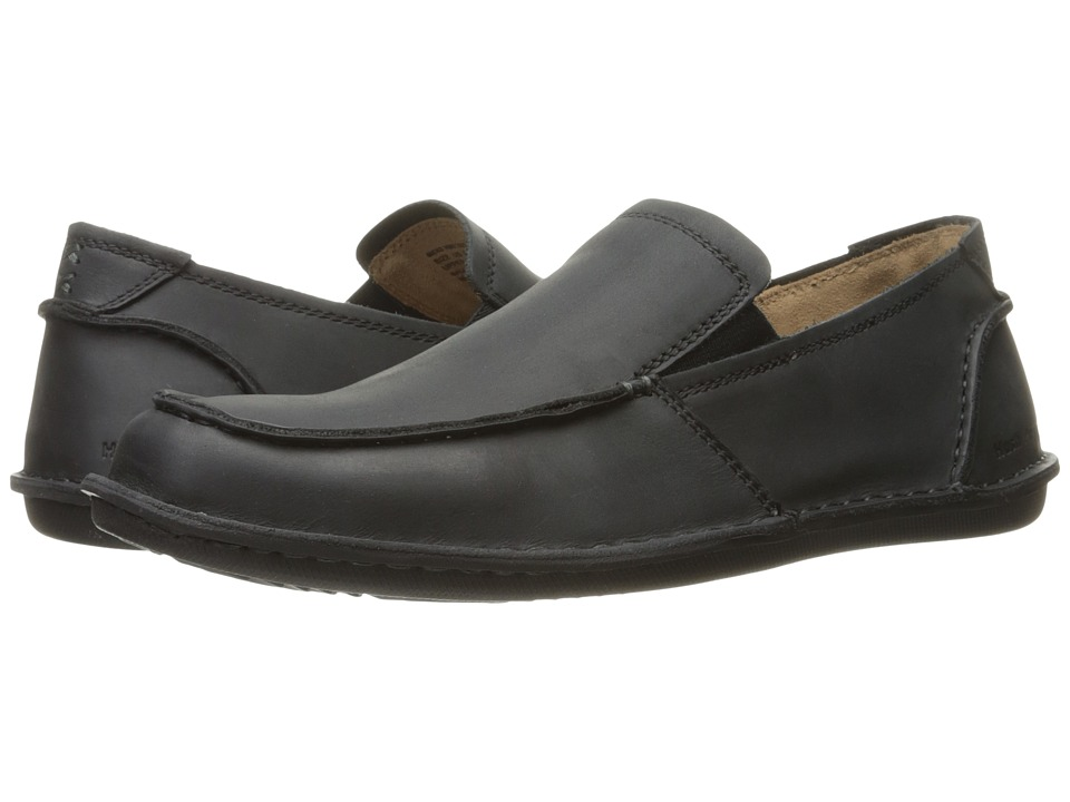 Hush Puppies Asil Roll Flex (Black Leather) Men