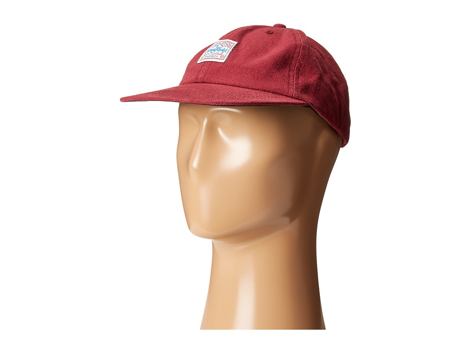 Benny Gold - Anti-Work Washed Polo Cap (Red) Caps