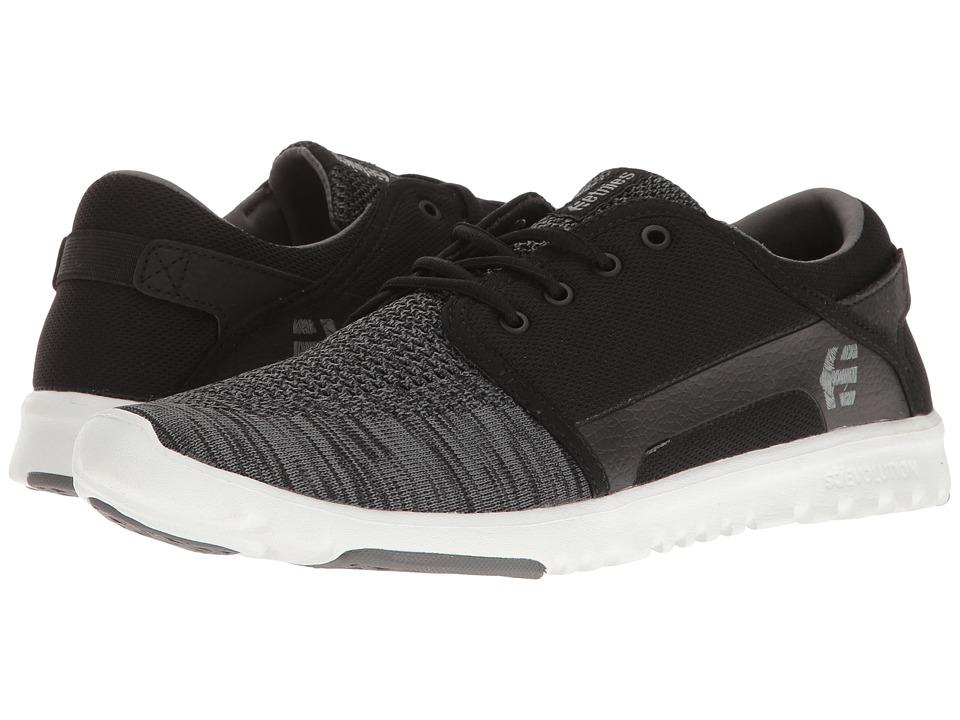 etnies - Scout YB (Black/Grey) Men's Skate Shoes