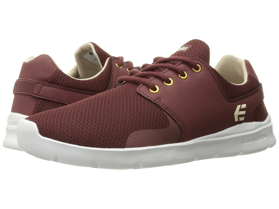 etnies - Scout XT (Burgundy) Men's Skate Shoes