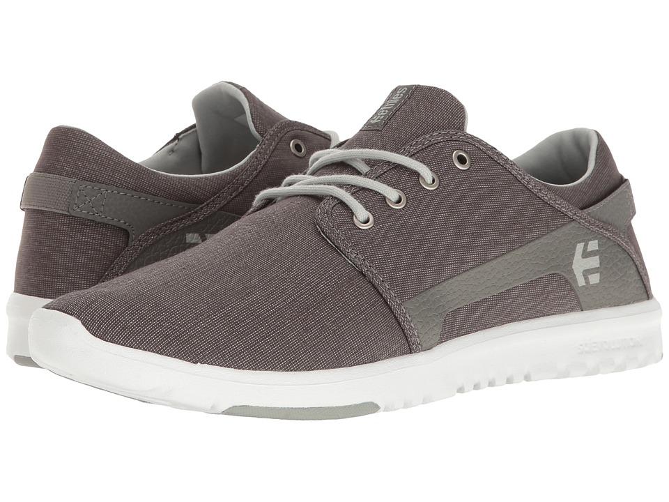 etnies - Scout (Charcoal/Heather) Men's Skate Shoes