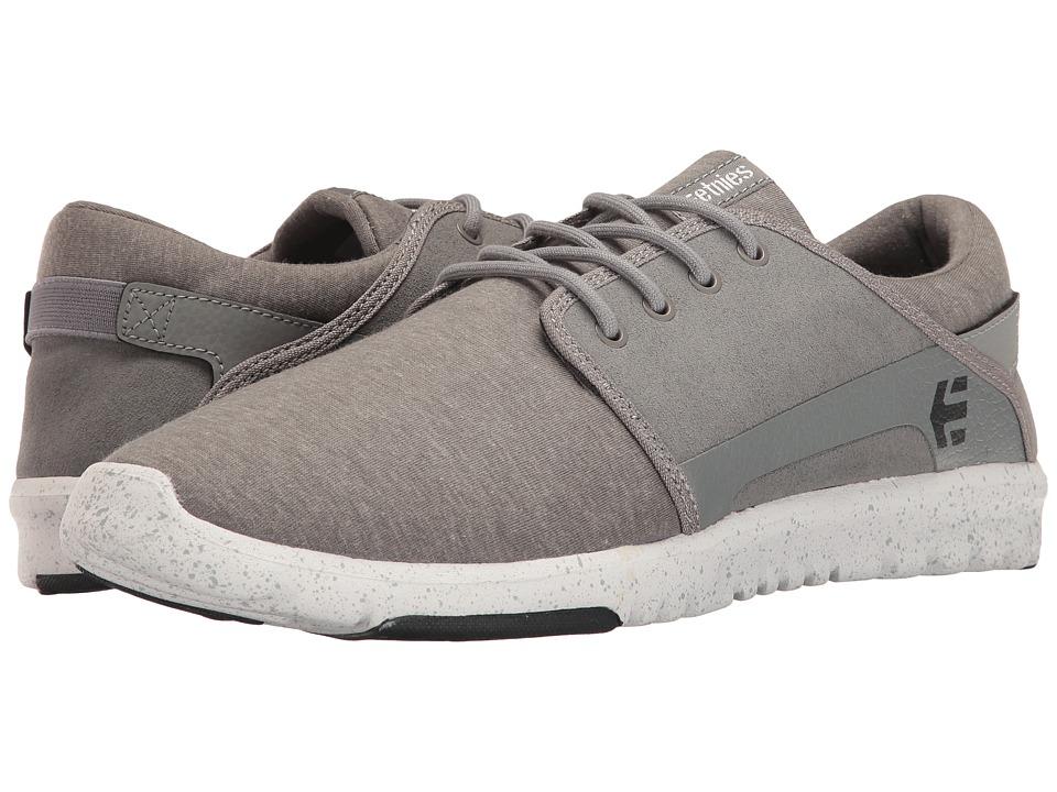etnies - Scout (Grey/Navy/White) Men's Skate Shoes