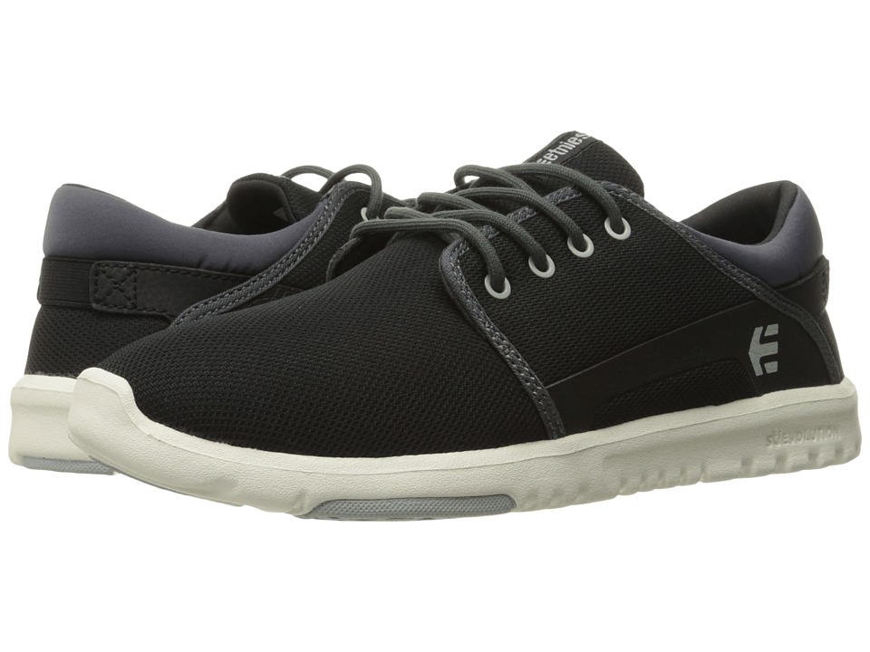 etnies - Scout (Black/Dark Grey/Grey) Men's Skate Shoes