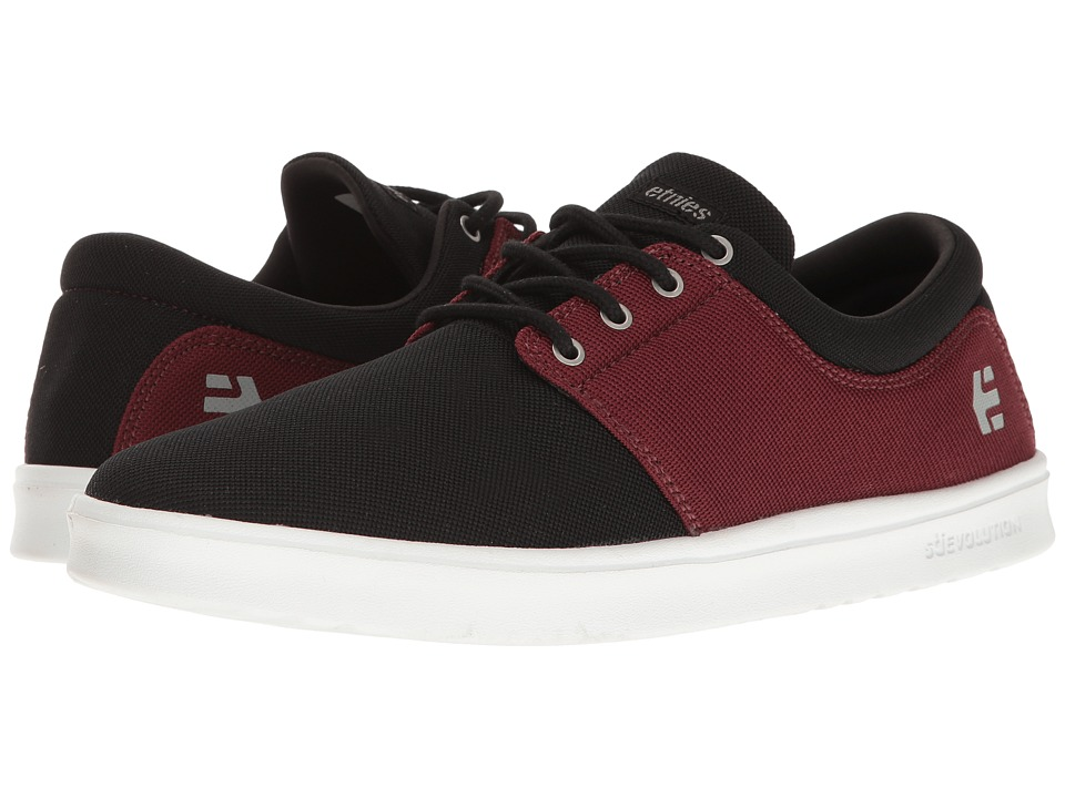 etnies - Barrage SC (Black/Red/White) Men's Skate Shoes