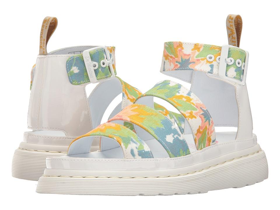 Dr. Martens - V Clarissa II (Multi/White Mandala TD Fine Canvas/Omni Patent) Women's Sandals