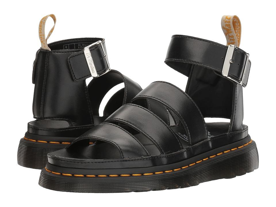 Dr. Martens - V Clarissa II (Black Felix Rub Off) Women's Sandals