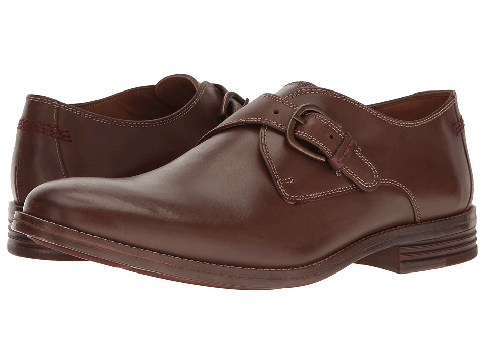 Hush Puppies - Ardent Parkview (Brown Leather) Men's Slip-on Dress Shoes