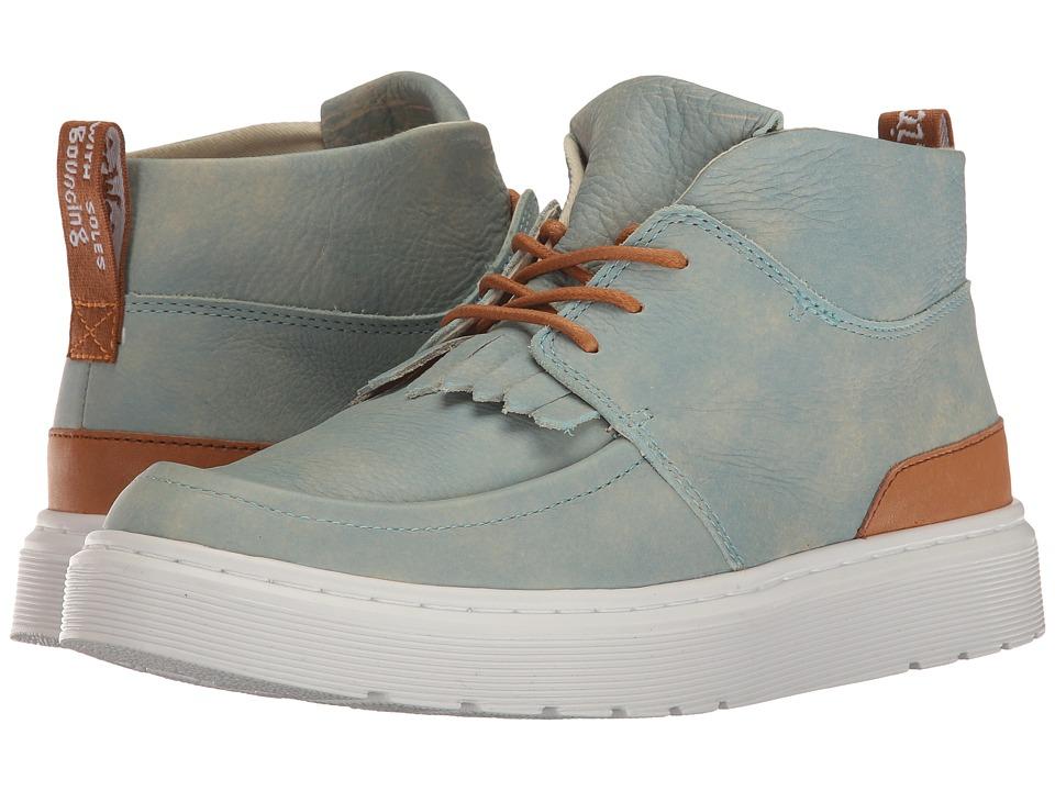 Dr. Martens - Jemima (Coronet Blue/Tan Blizzard Rave/San Diego) Women's Boots