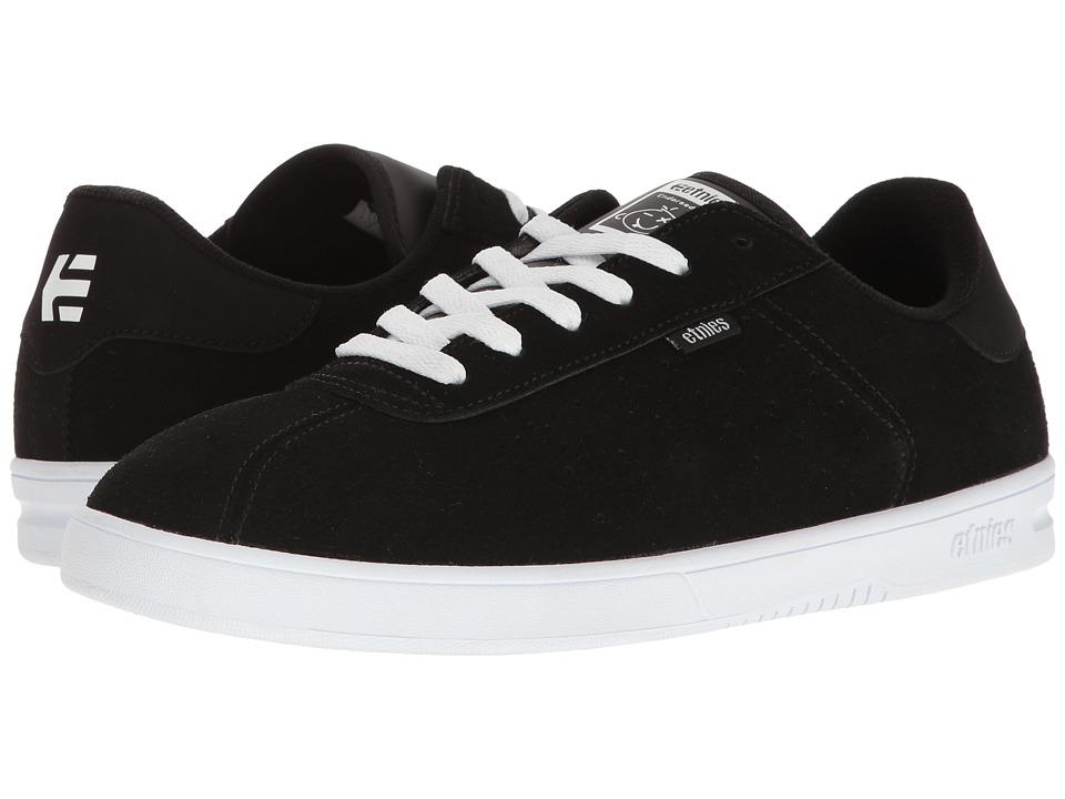 etnies - The Scam (Black/White) Men's Skate Shoes