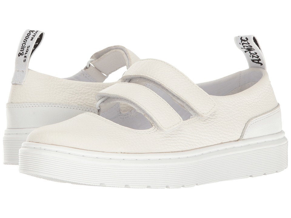 Dr. Martens - Mae (White Aunt Sally/Venice) Women's Maryjane Shoes