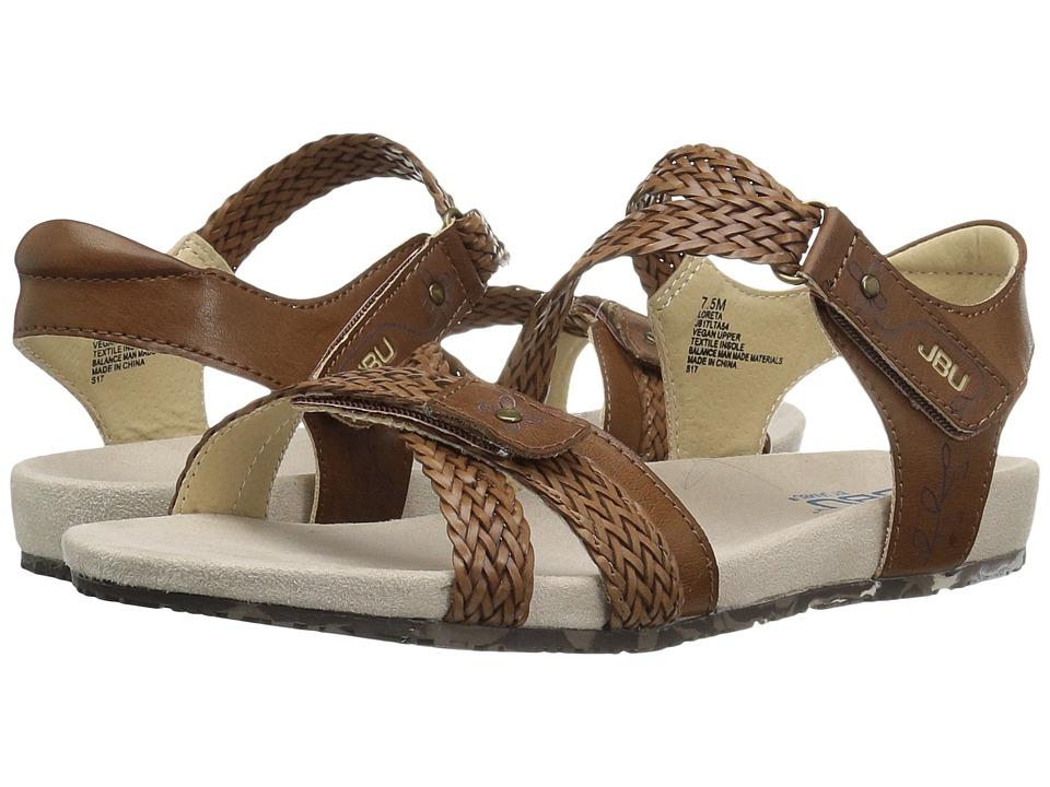 JBU - Loreta (Cognac) Women's Sandals