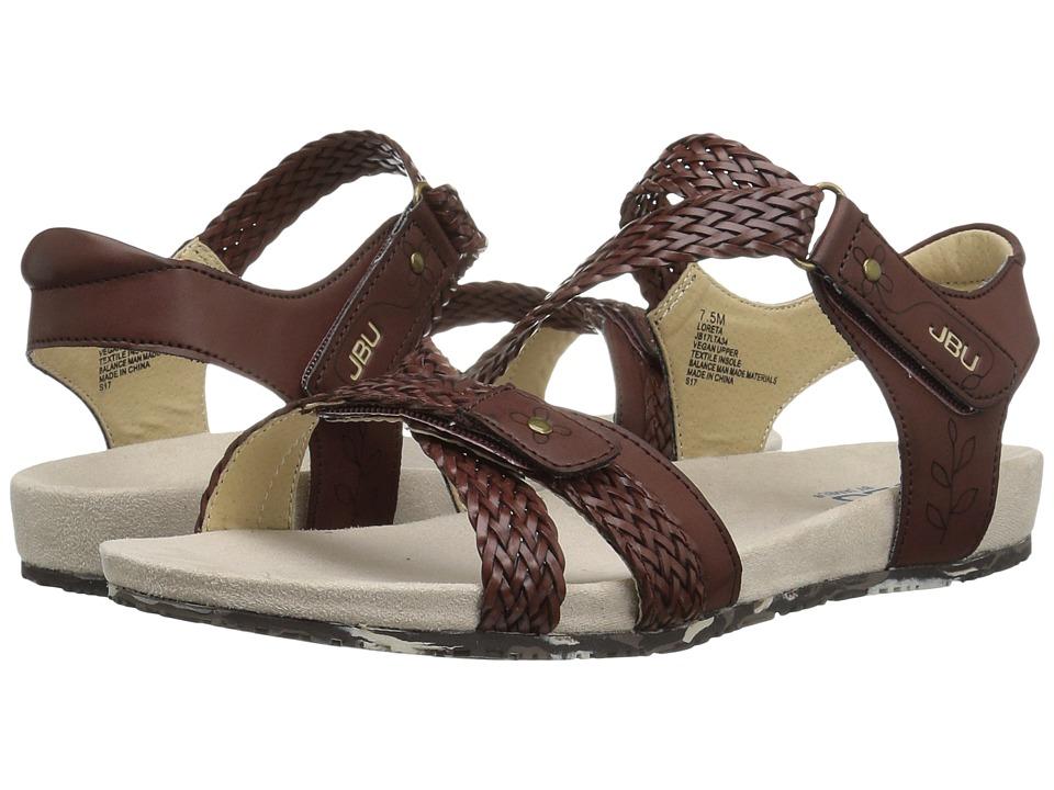 JBU - Loreta (Mahogony) Women's Sandals