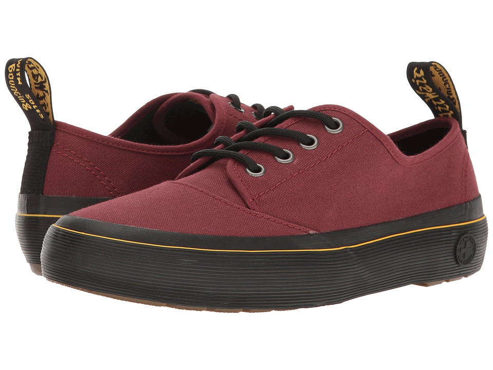 Dr. Martens - Jacy (Cherry Red Canvas) Women's Boots