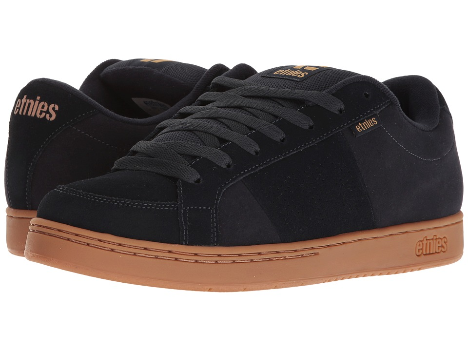 etnies - Kingpin (Navy/Gum) Men's Skate Shoes
