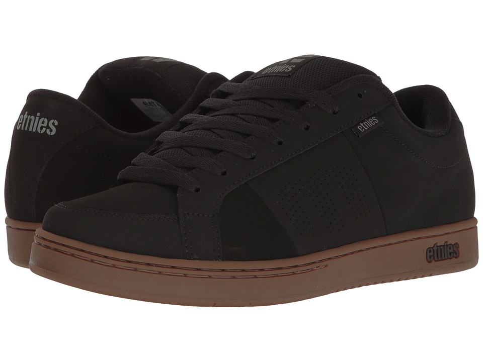 etnies - Kingpin (Black/Gum/Grey) Men's Skate Shoes