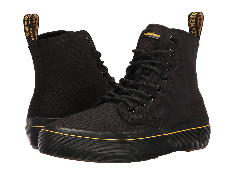 Dr. Martens - Monet (Black Canvas) Women's Boots