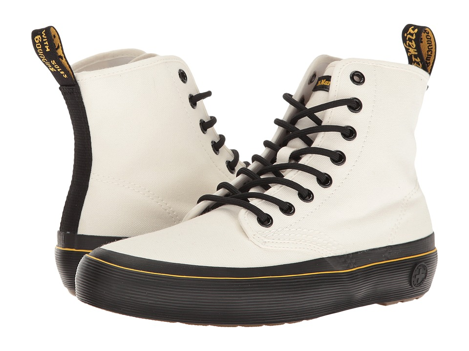 Dr. Martens Monet (White Canvas) Women