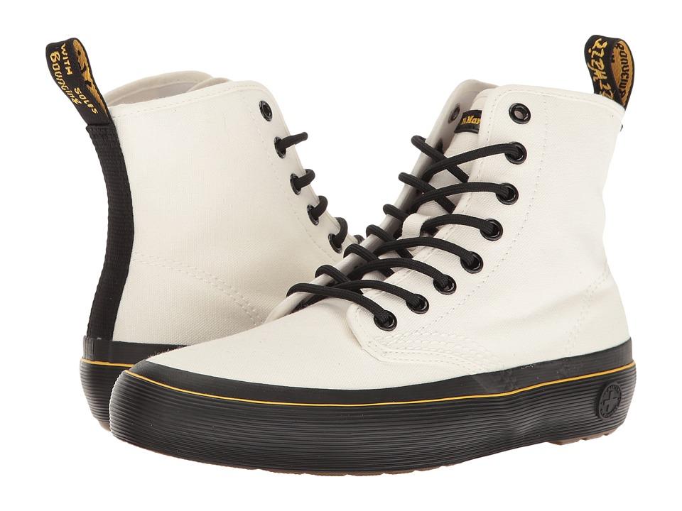 Dr. Martens - Monet (White Canvas) Women's Boots