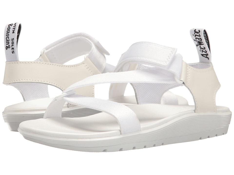 Dr. Martens - Balfour (White Webbing/T Lamper) Women's Boots