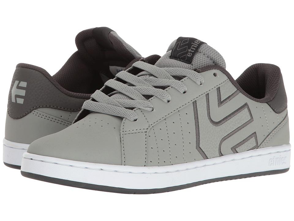 etnies - Fader LS (Grey/White) Men's Skate Shoes