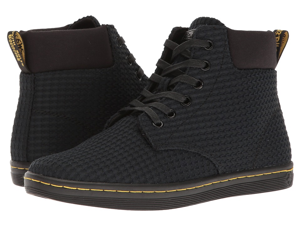 Dr. Martens Maelly WC (Black Waffle Cotton/Fine Canvas) Women