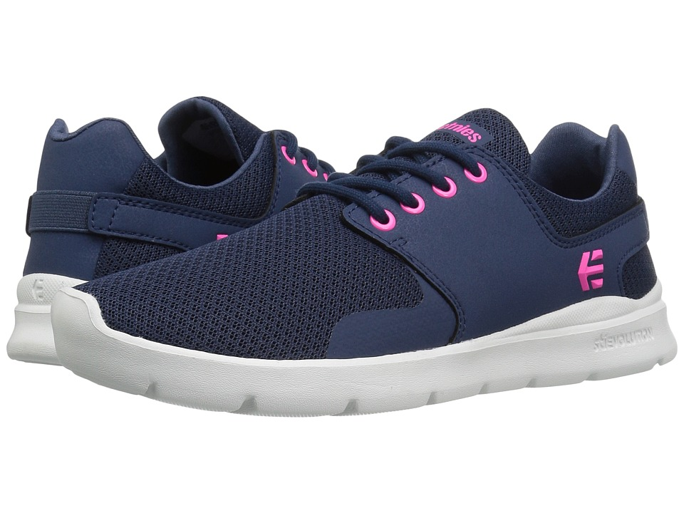 etnies - Scout XT (Navy/Pink) Women's Skate Shoes