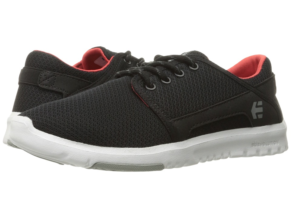 etnies - Scout W (Black/Grey/Red) Women's Skate Shoes