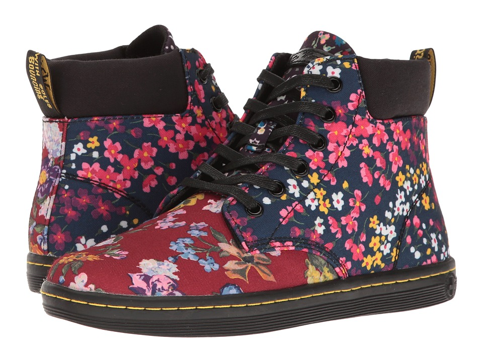 Dr. Martens - Maelly FC (Multi Floral Mix T Canvas) Women's Boots
