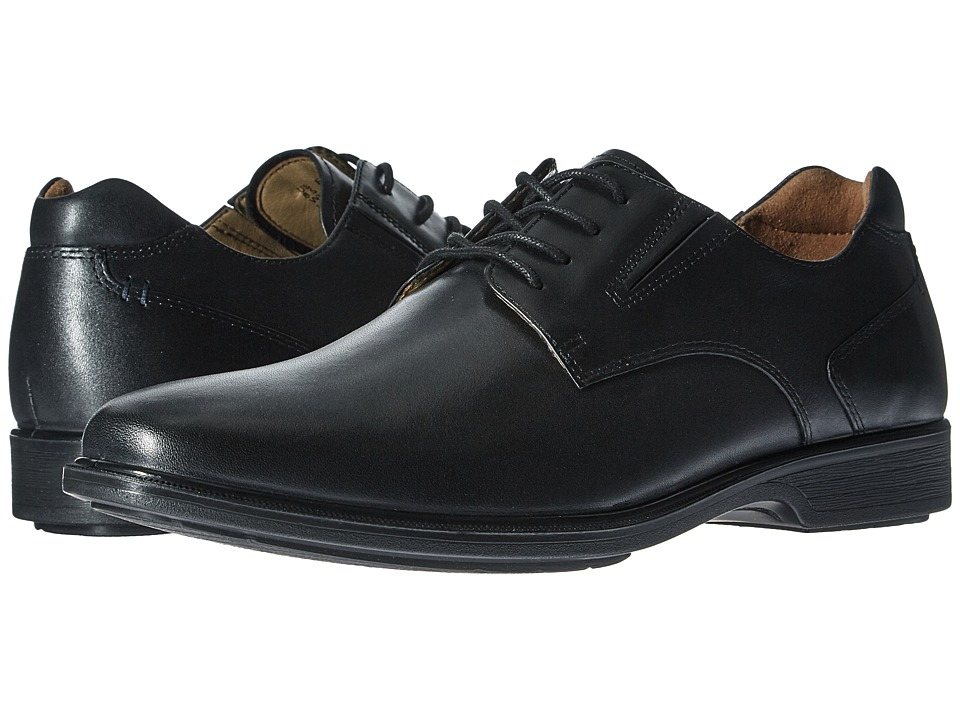 Hush Puppies - Waterproof Echo Workday (Black WP Leather) Men's Shoes