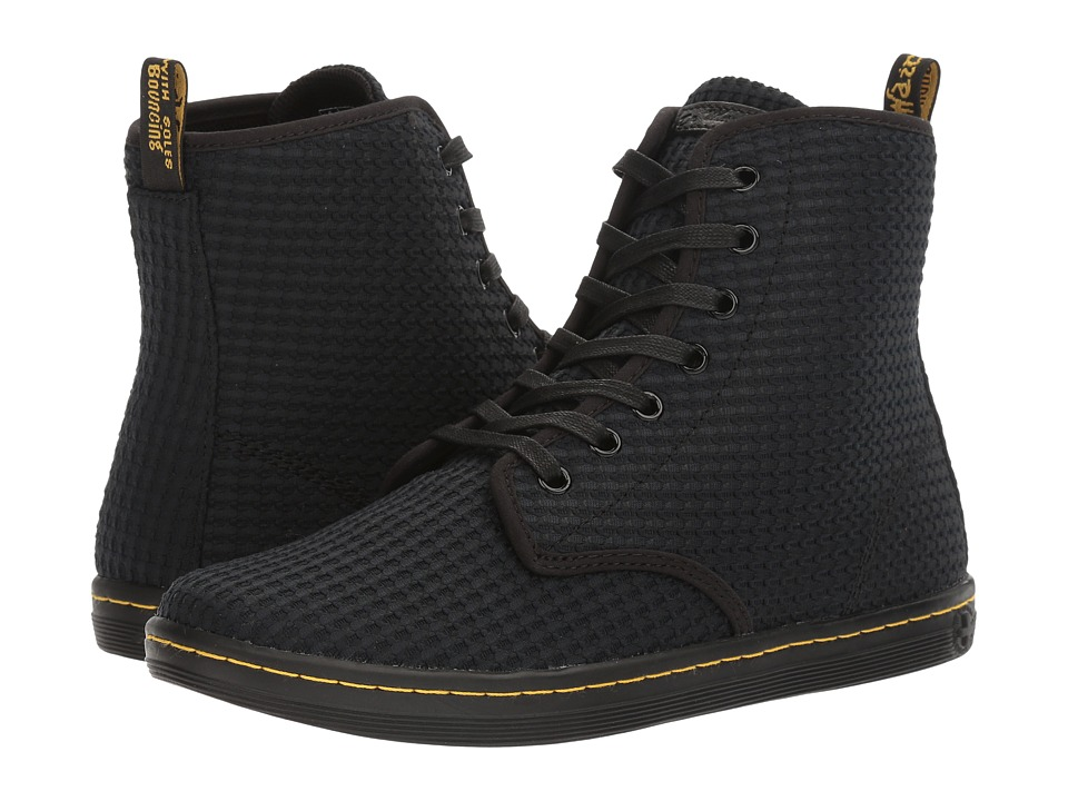 Dr. Martens - Shoreditch WC (Black Waffle Cotton) Women's Boots