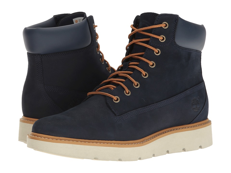 Timberland Kenniston 6 Lace-Up Boot (Navy Nubuck) Women