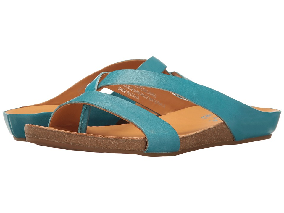 Kork-Ease - Devoe (Turquoise Full Grain) Women's Shoes