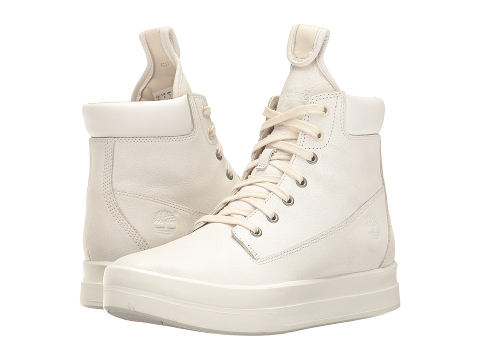 Timberland - Mayliss 6 Boot (White Full Grain) Women's Boots