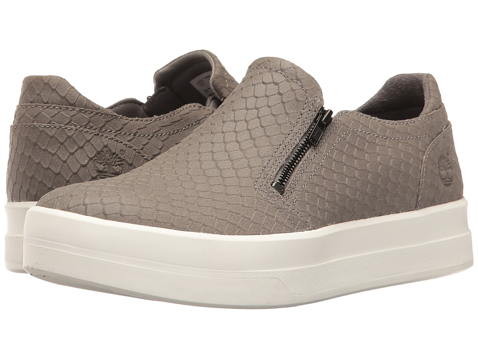 Timberland Mayliss Slip-On (Medium Grey Suede/Emboss) Women