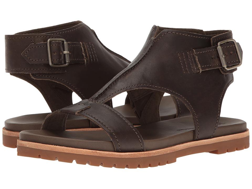 Timberland Natoma Ankle Strap Sandal (Olive Full Grain) Women
