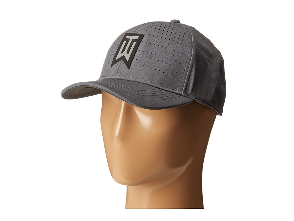 Nike Golf - Tiger Woods Classic99 Statement Cap (Dark Grey/Anthracite/Reflective Black) Caps