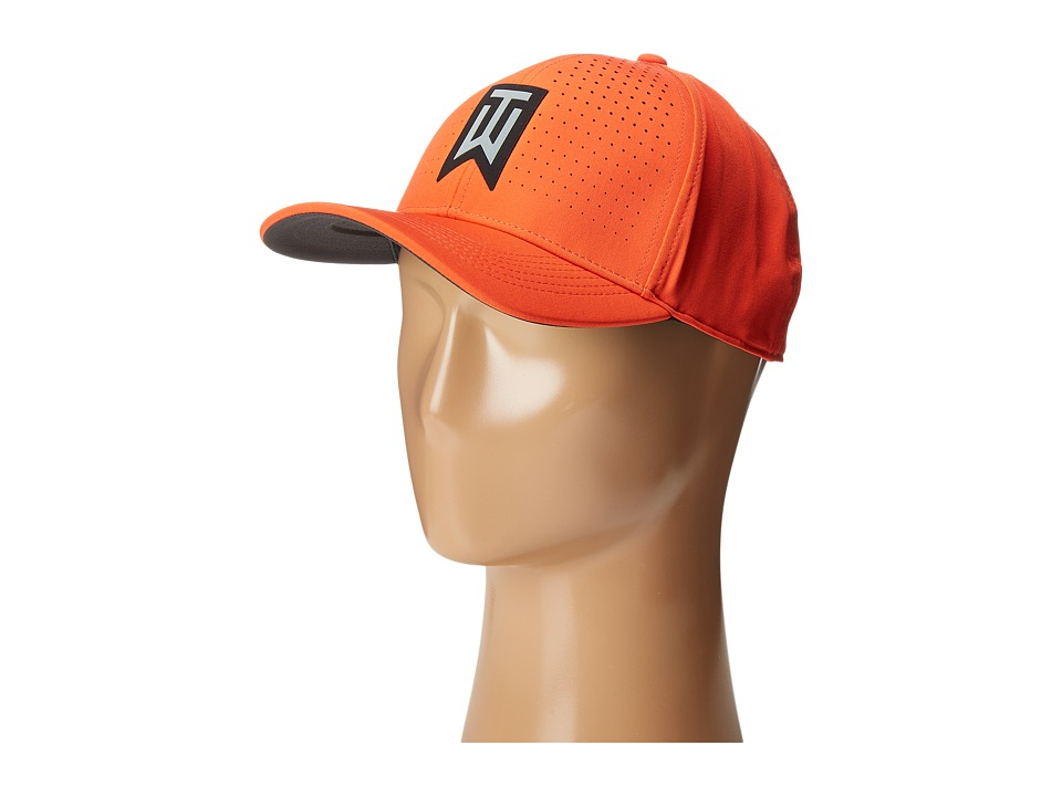 Nike Golf - Tiger Woods Classic99 Statement Cap (Max Orange/Anthracite/Reflective Black) Caps