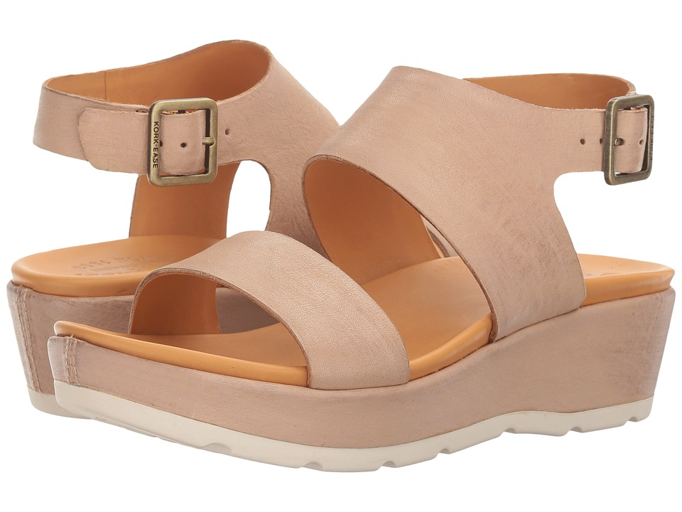 Kork-Ease - Khloe (Natural Full Grain) Women's Sandals