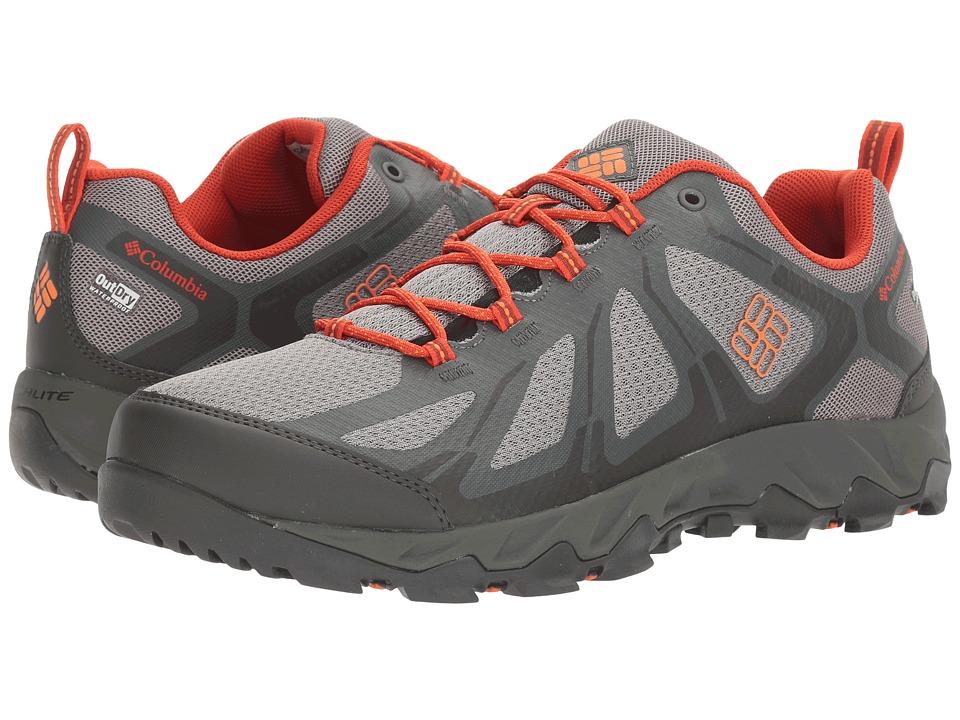 Columbia - Peakfreak XCRSN II Xcel Low Outdry(r) (Light Grey/Valencia) Men's Shoes