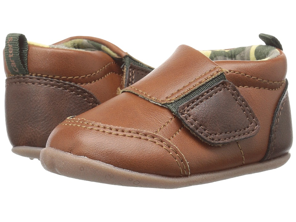 Carters - Alex SB (Infant/Toddler) (Brown/Green) Boy's Shoes