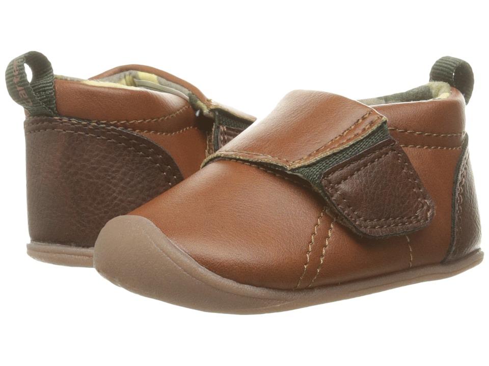 Carters - Alex CB (Infant) (Brown/Green) Boy's Shoes